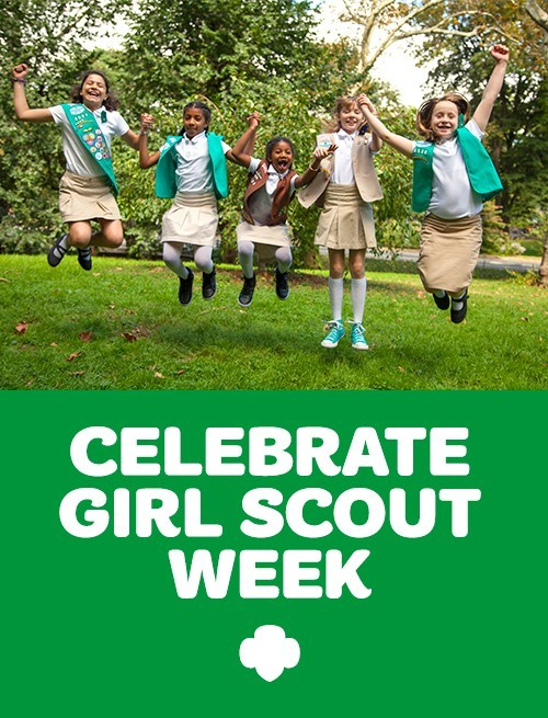 Celebrate Girl Scout Week
